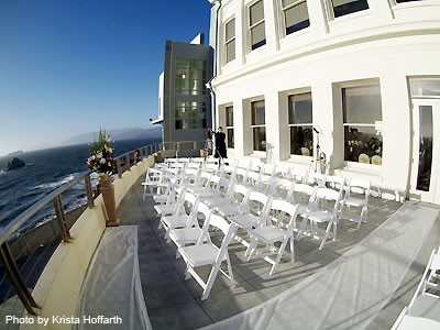 Cliff House terrace